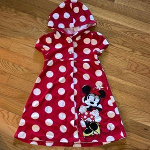Disney terry cloth 5/6 beach cover up